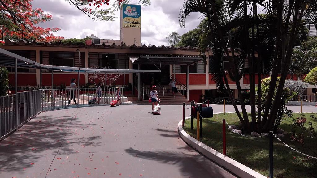 Entrada Escola Imaculada Goiania