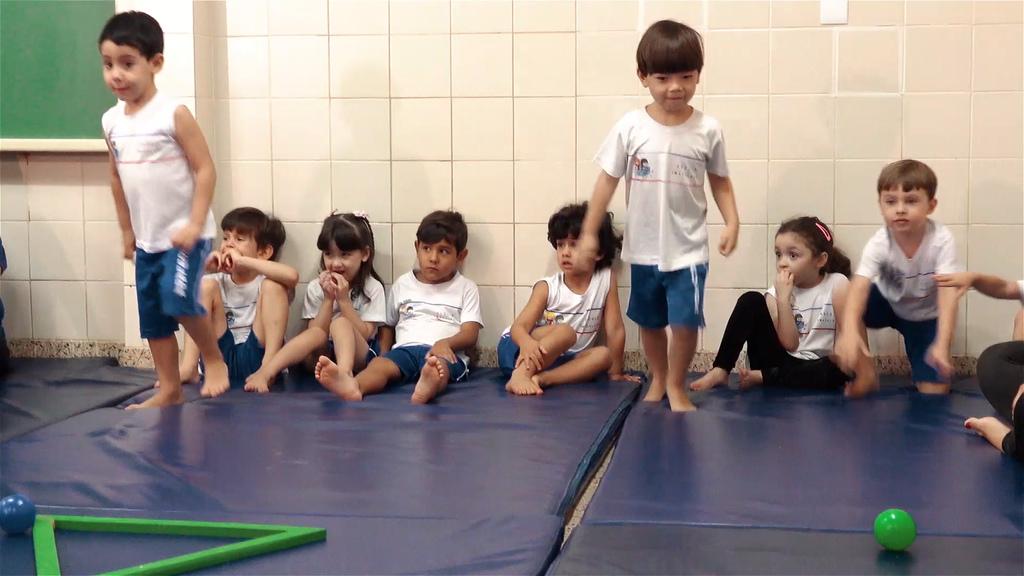 Aula de Equilibrio Escola Imaculada