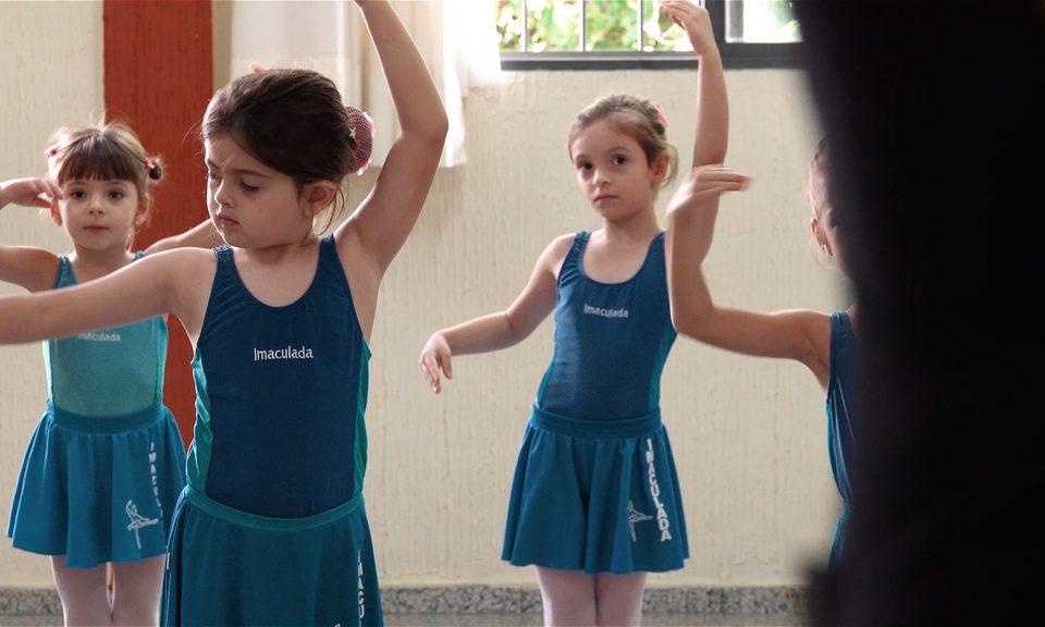 Aula de Ballet Escola Imaculada em Goiania