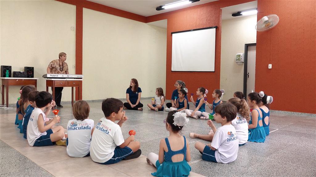 Aula de Musica Escola Imaculada