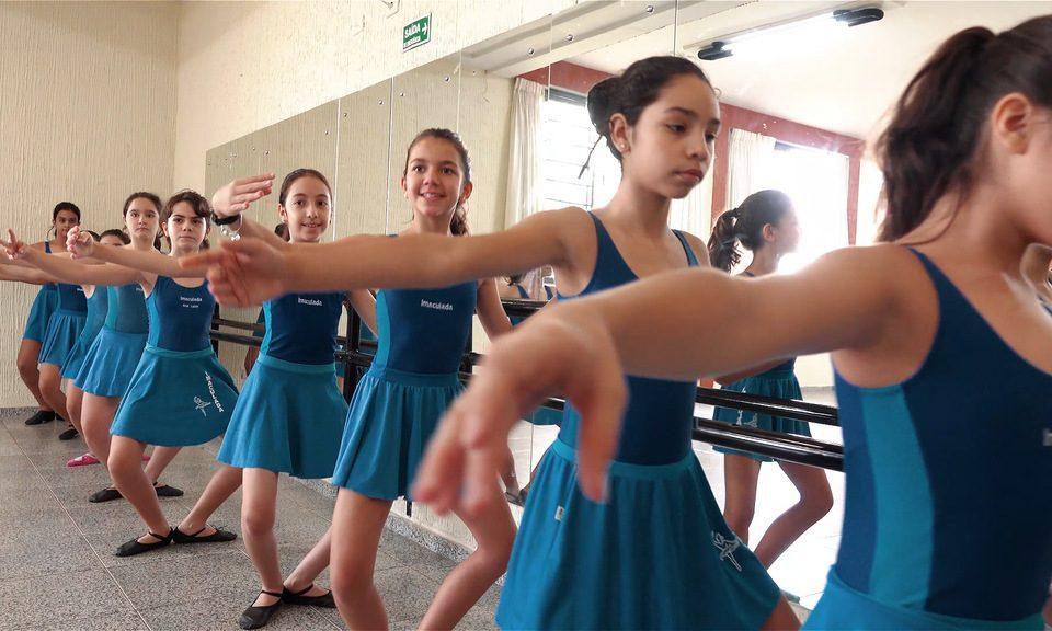 Aula de Ballet Escola Imaculada