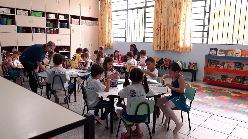 Sala de aula Escola Imaculada Goiania