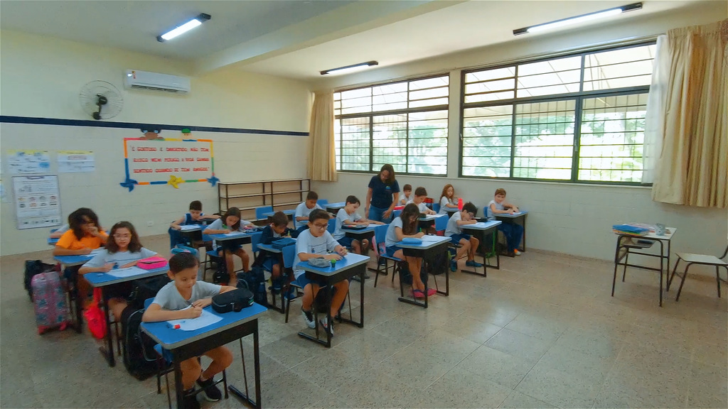 Sala de aula Escola Imaculada